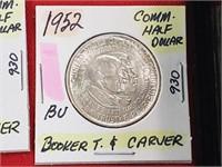 BU 1952 Booker T. & Carver Comm. Half Dollar