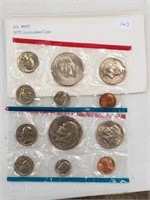 1975 United States Uncirculated Coin Set