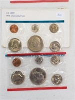 1976 United States Uncirculated Coin Set