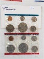 1977 United States Uncirculated Coin Set