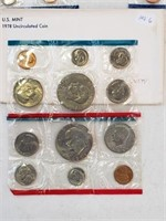1978 United States Uncirculated Coin Set