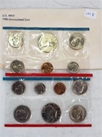 1980 United States Uncirculated Coin Set