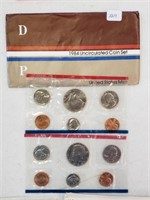 1984 United States Uncirculated Coin Set