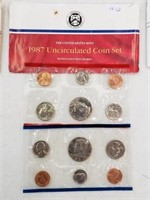 1987 United States Uncirculated Coin Set