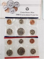 1988 United States Uncirculated Coin Set
