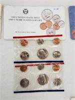1989 United States Uncirculated Coin Set