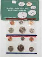 1993 United States Uncirculated Coin Set
