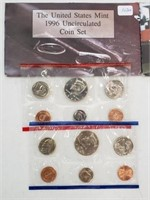 1996 United States Uncirculated Coin Set