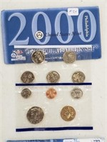 2000 United States Uncirculated Coin Set