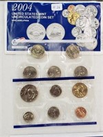 2004 United States Uncirculated Coin Set