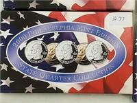 2000 Philadelphia Mint State Quarter Coin Set