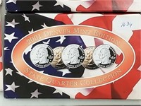 2001 Denver Mint State Quarter Coin Set