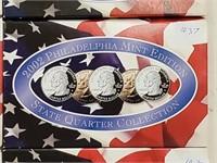 2002 Philadelphia Mint State Quarter Coin Set