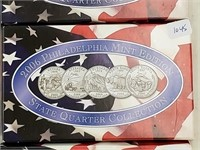 2006 Philadelphia Mint State Quarter Coin Set