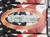 2007 Denver Mint State Quarter Coin Set