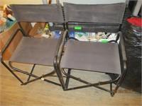 Sleeping Bag, Lantern, Chairs