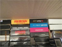 VHS Player, VHS Tapes, Organizers