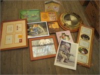 Clock, Picture Frames