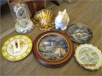 Clocks, Fountains, Vases, Goblets, Plates and More
