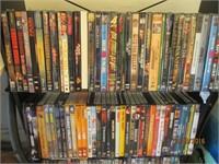 Shelf, DVDs, DVD Players