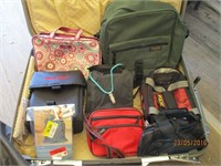 Suitcase, Backpacks, Purses, Bags