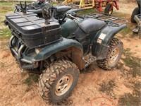 2008 Yamaha 660cc Grizzly ATV