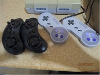 Super Nintendo, Games, Controllers, Cords