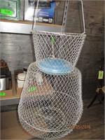 Fishing Reels, Basket
