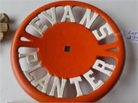 Evans Planter Cast Iron Seat Class 10 1/2
