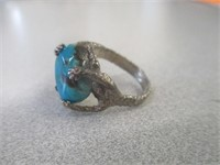 3) Size 6 Silver Rings