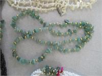 6) Stone Necklaces