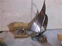 Barometer, Clock, Nautical Decor