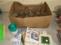 Jelly Jars, Labels , Trivet