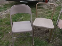 Folding Chairs and Desk Chair