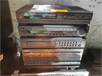 Stereo Systems, Equalizer, Cassette  Recorder,