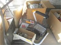 Vise, Work Light, Caster Wheel, Burner Tray
