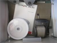Filing Cabinets, Speakers, Digital Photo Frame,
