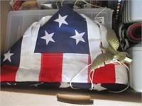 American Flag, Speaker, Rear Window Defrost, Tape