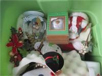 Christmas Decor, Stuffed Animals, Trolls, Candles