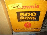 Movie Projector, Empty Reels, Recording Tape