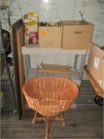 Basket, Framed Art, Illum-Address, Motion Light,
