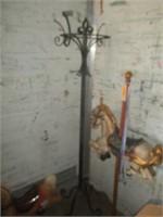 Carousel Horse, Toy Horse, Coat Rack
