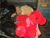 Fan, Christmas Lights, Bows, Stuffed Animals