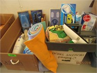 Car Washer, Towels, Cleaning Supplies