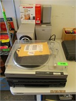 Record Player, CD Player, Speakers
