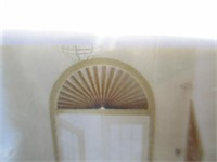 Dish Rack, Bench, Arch Window Shade, Glassware