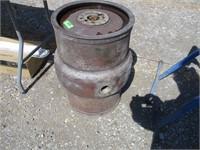 Antique Beer Keg