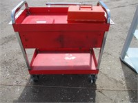 Tool Cart and Toyota Air Conditioning Compressor
