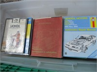 Mechanic Books, Hub Caps, Car Parts