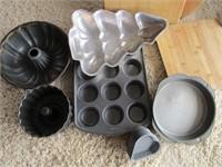 Blender, Mixer, Cutting Boards, Baking Pans